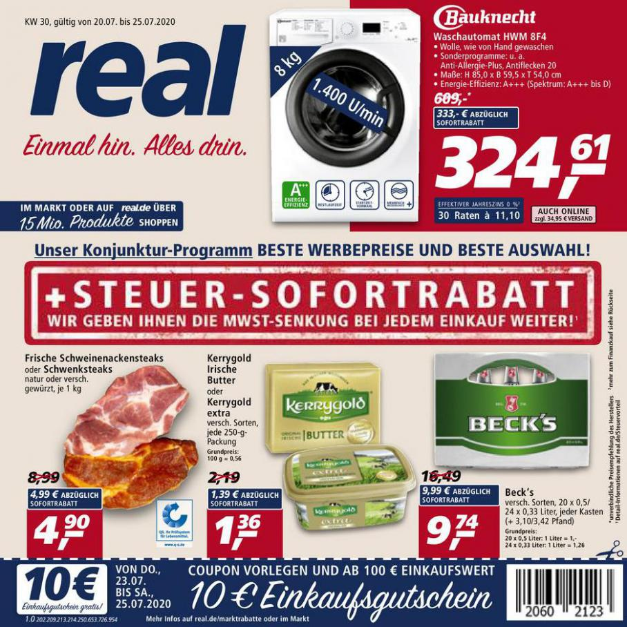 Prospekt Woche 30 . real (2020-07-25-2020-07-25)