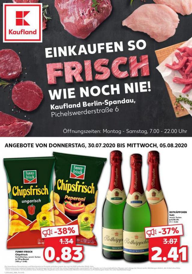 Angebote Kaufland . Kaufland (2020-08-05-2020-08-05)