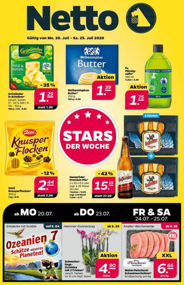 Angebote der Woche . Netto (2020-07-25-2020-07-25)