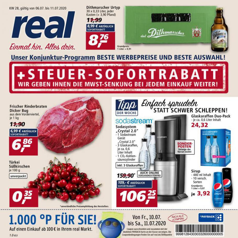 Prospekt Woche 28 . real (2020-07-11-2020-07-11)