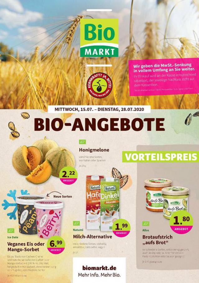 Bio-Angebote . BioMarkt (2020-07-21-2020-07-21)