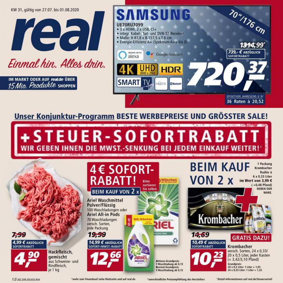 Prospekt Woche 31 . real (2020-08-01-2020-08-01)