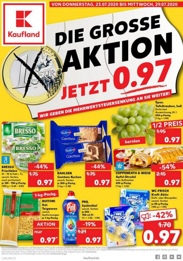 Angebote Kaufland . Kaufland (2020-07-29-2020-07-29)