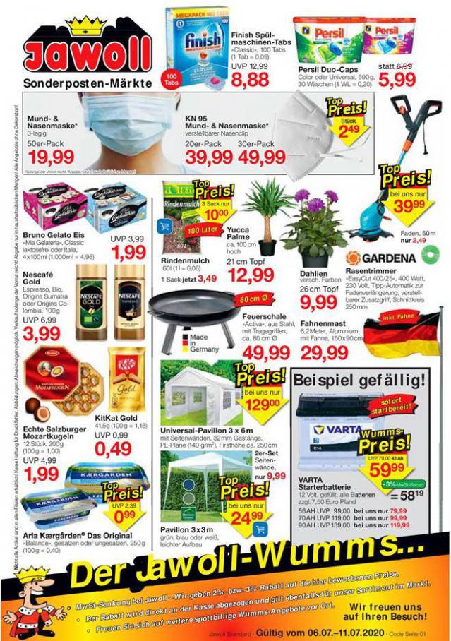 Angebote der Woche . Jawoll (2020-07-11-2020-07-11)