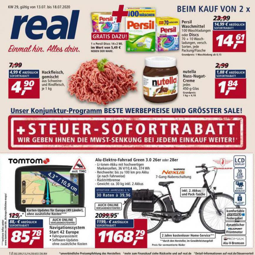 Prospekt Woche 29 . real (2020-07-18-2020-07-18)