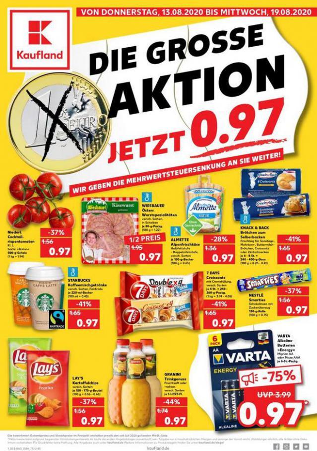 Angebote Kaufland . Kaufland (2020-08-19-2020-08-19)