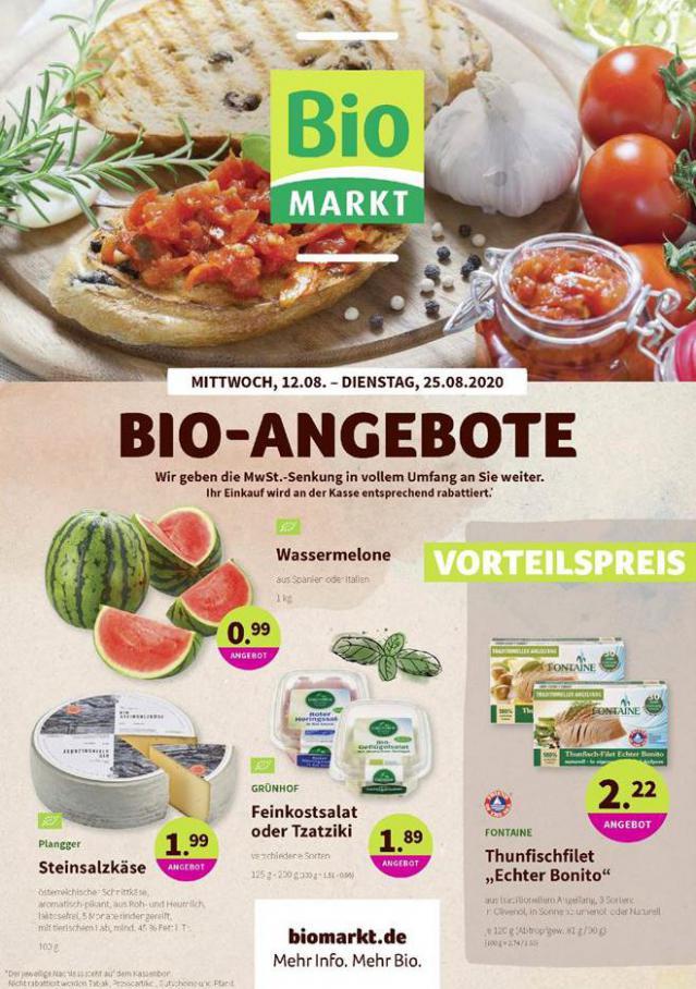 Bio-Angebote . BioMarkt (2020-08-25-2020-08-25)