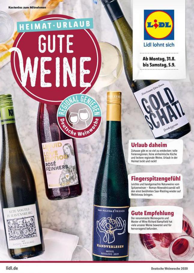 Deutsche Weinwoche 2020 . Lidl (2020-09-05-2020-09-05)