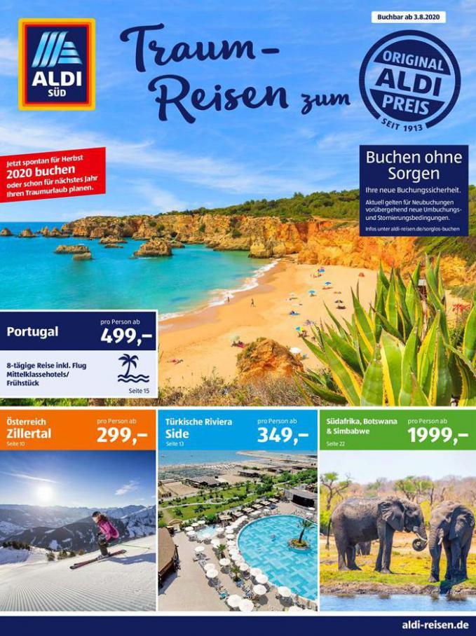 Traum-Reisen zum Aldi Preis . Aldi Süd (2020-08-31-2020-08-31)