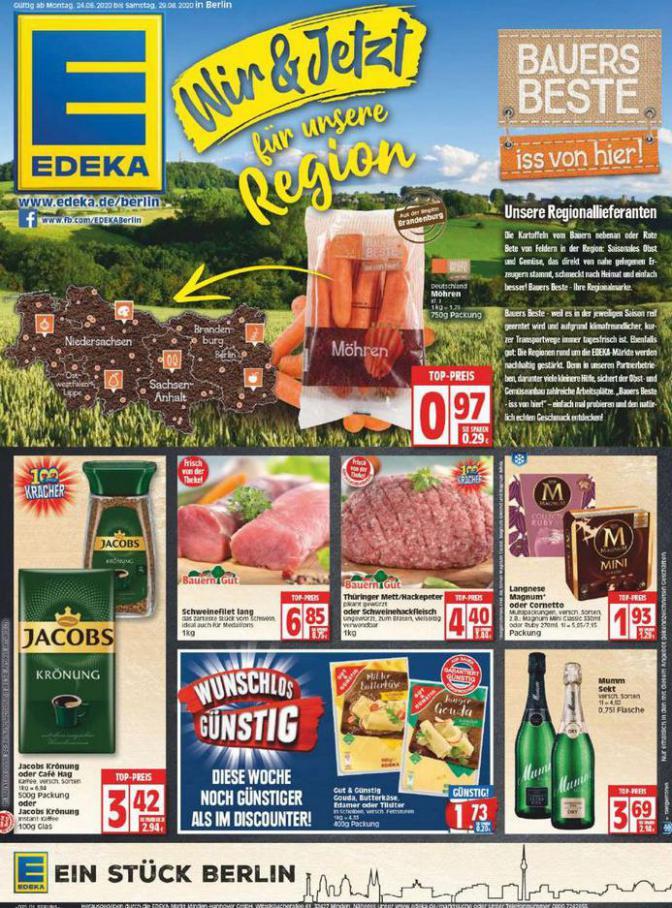 Edeka flugblatt . EDEKA (2020-08-29-2020-08-29)