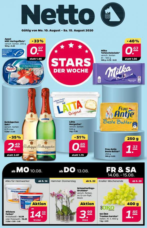 Stars der Woche . Netto (2020-08-15-2020-08-15)