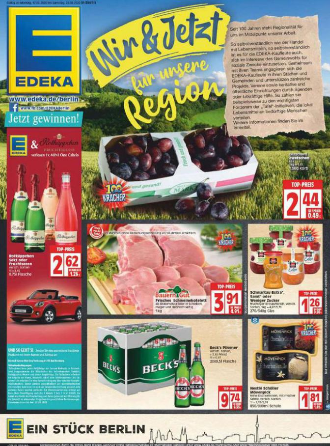 Edeka flugblatt . EDEKA (2020-08-22-2020-08-22)