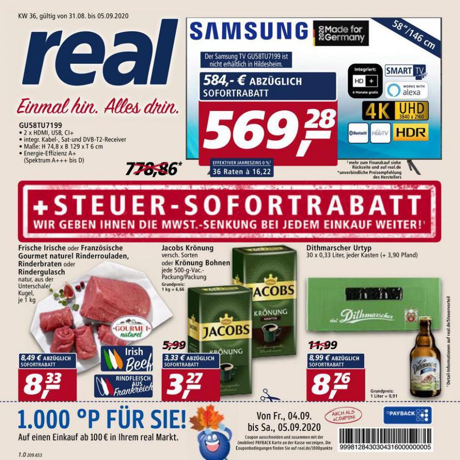 Prospekt Woche 36 . real (2020-09-05-2020-09-05)