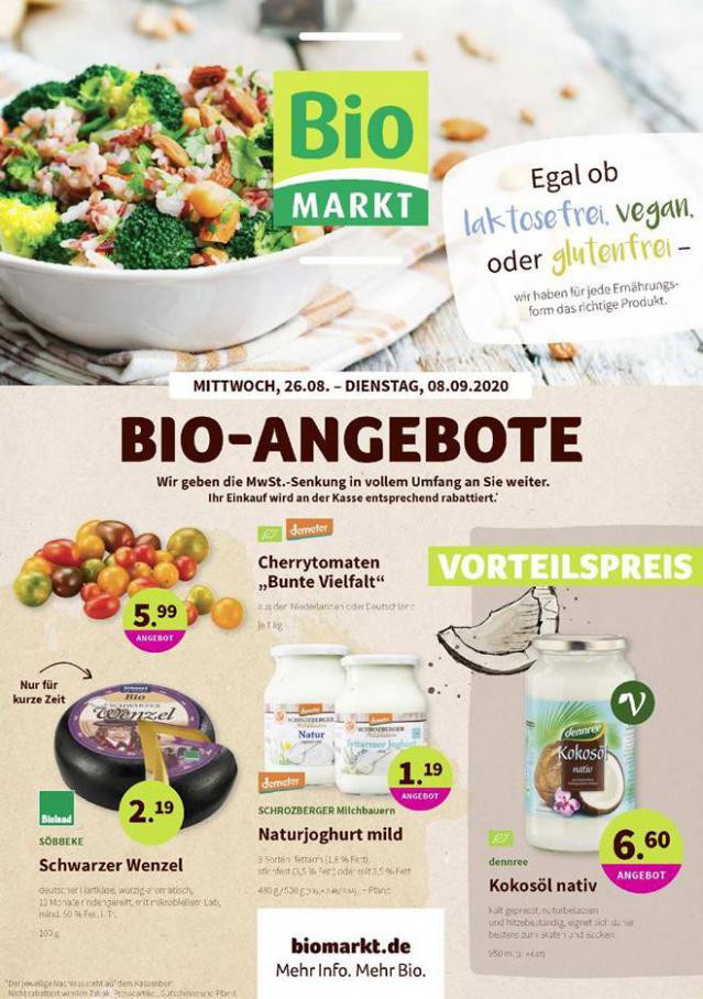 Bio-Angebote . BioMarkt (2020-09-08-2020-09-08)