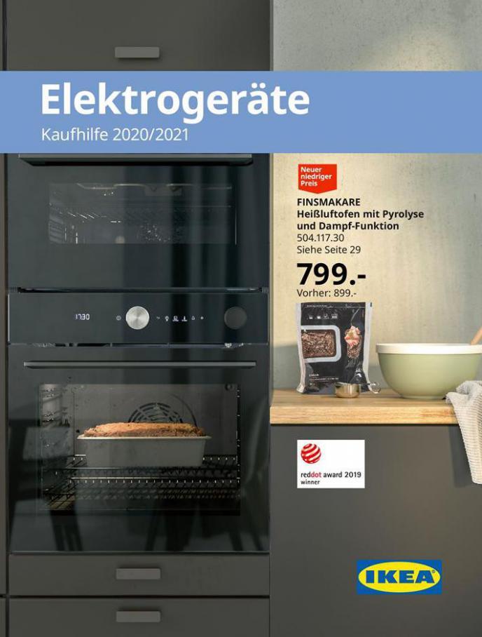 Elektrogeräte Kaufhilfe 2020/2021 . IKEA (2021-01-31-2021-01-31)