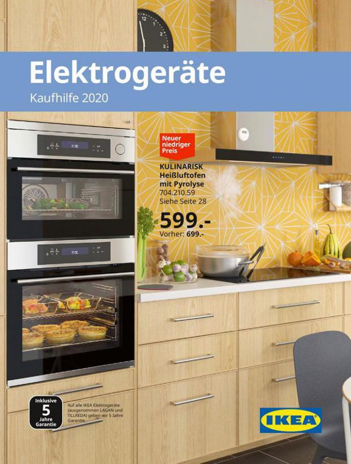 Elektrogeräte Kaufhilfe 2020 . IKEA (2020-08-31-2020-08-31)