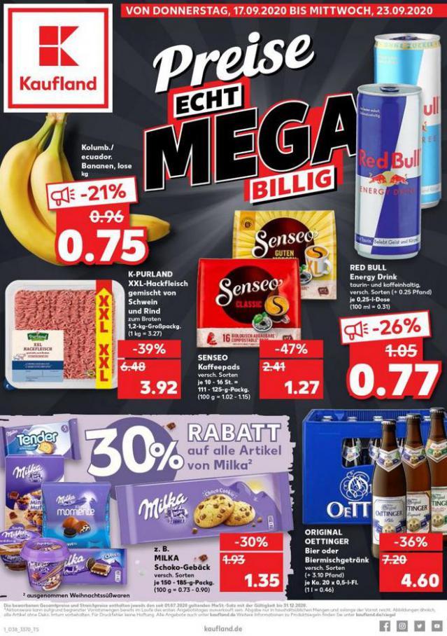 Angebote Kaufland . Kaufland (2020-09-23-2020-09-23)