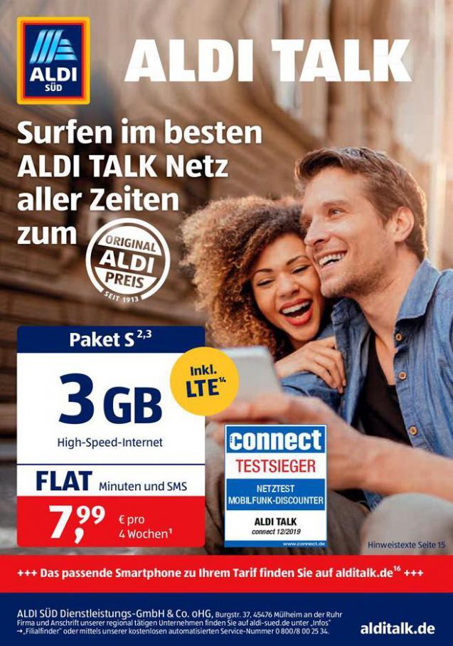 Aldi Talk . Aldi Süd (2020-09-30-2020-09-30)