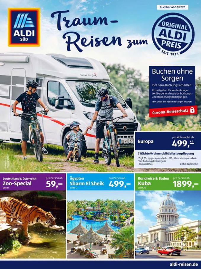 Traum-Reisen zum Aldi Preis . Aldi Süd (2020-09-30-2020-09-30)