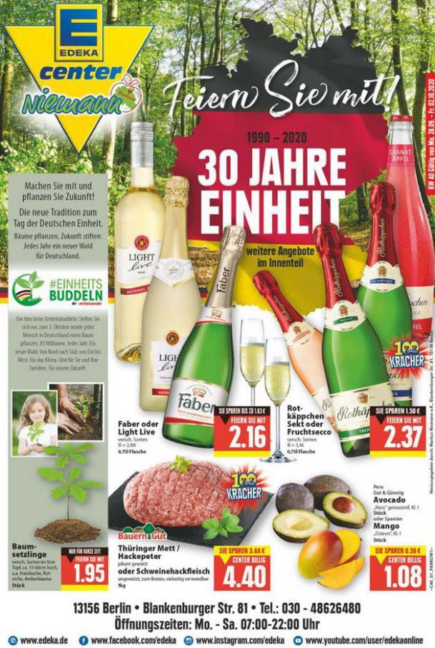 Edeka flugblatt . EDEKA (2020-10-03-2020-10-03)