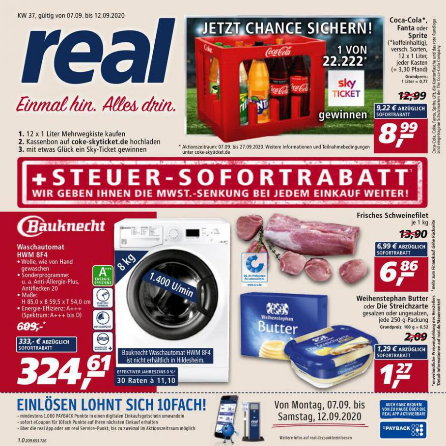 Prospekt Woche 37 . real (2020-09-12-2020-09-12)