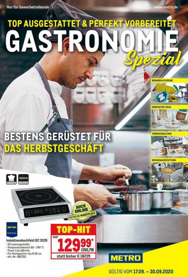 Gastronomie Spezial . Metro (2020-09-30-2020-09-30)
