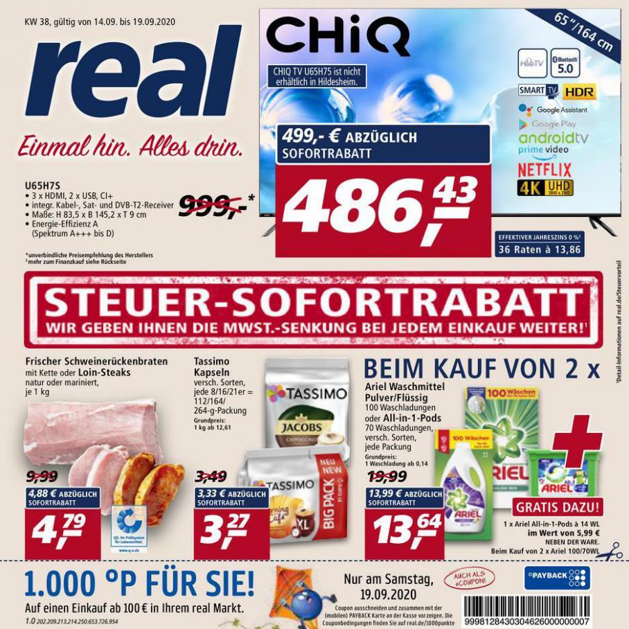 Prospekt Woche 38 . real (2020-09-19-2020-09-19)