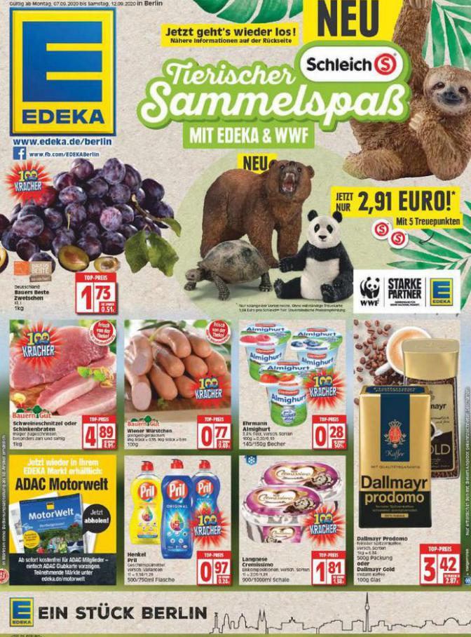 Edeka flugblatt . EDEKA (2020-09-12-2020-09-12)