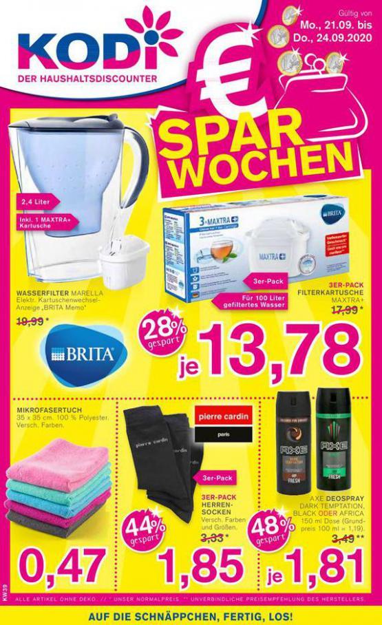 € Spar Wochen . KODi (2020-09-24-2020-09-24)