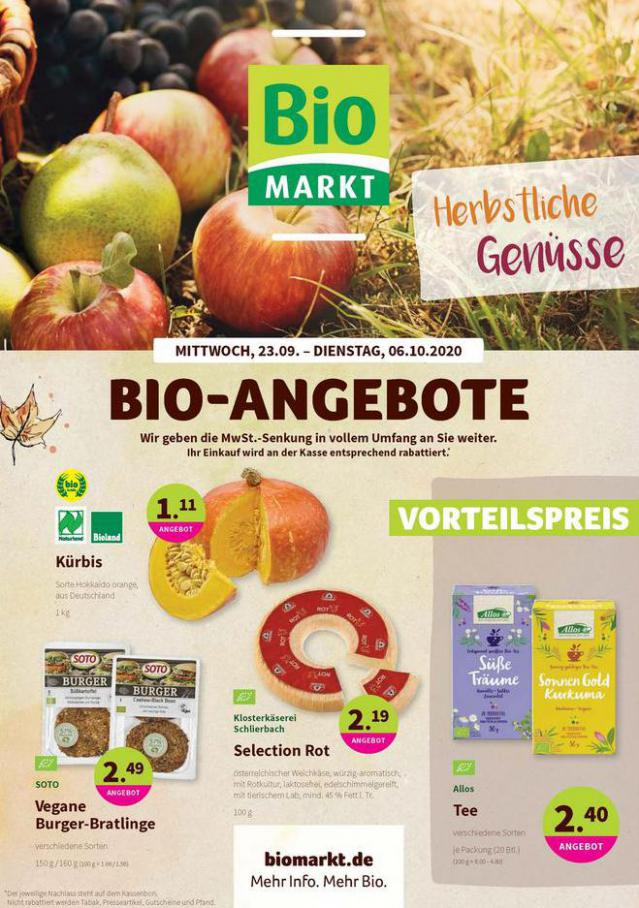 Bio-Angebote . BioMarkt (2020-10-06-2020-10-06)