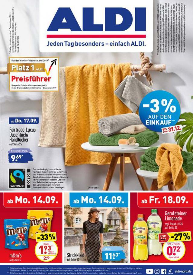 ALDI Aktuell . Aldi Nord (2020-09-21-2020-09-21)