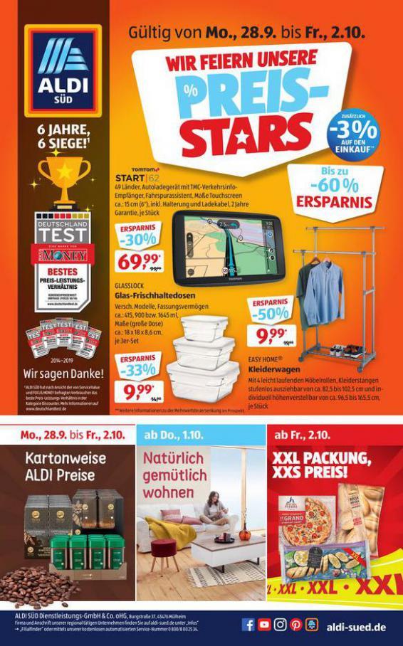 Wir Feiern Unsere PREIS-STARS . Aldi Süd (2020-10-03-2020-10-03)