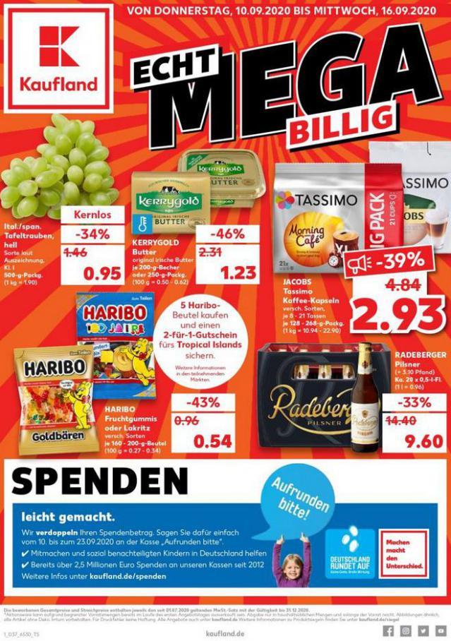 Angebote Kaufland . Kaufland (2020-09-16-2020-09-16)