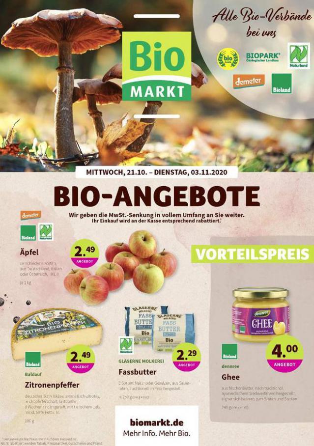 Bio-Angebote . BioMarkt (2020-11-03-2020-11-03)