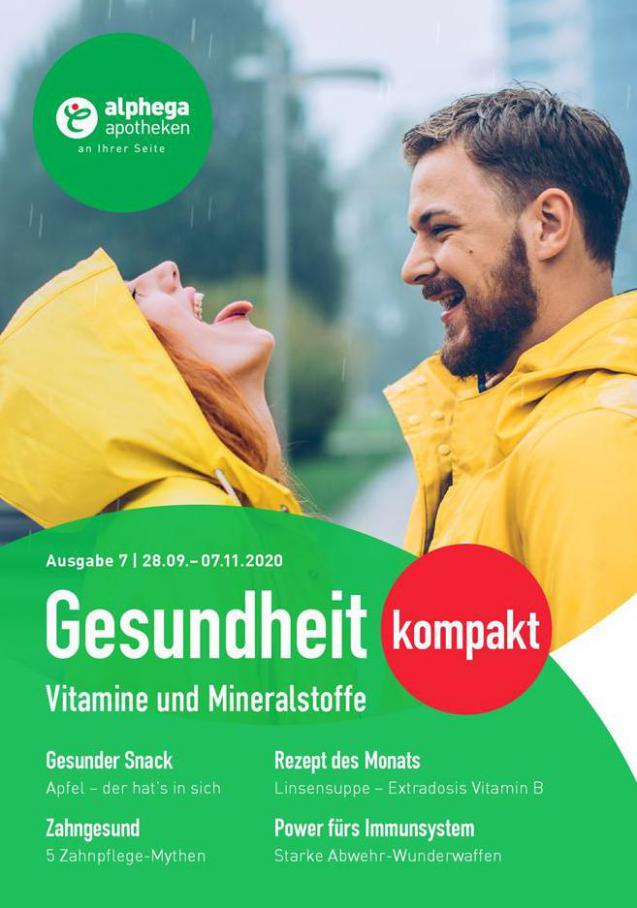 Gesundheit kompakt . Alphega Apotheken (2020-11-07-2020-11-07)