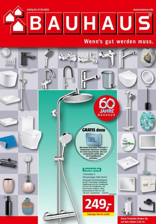 Katalog . Bauhaus (2020-10-31-2020-10-31)
