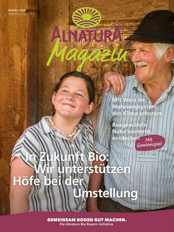 Alnatura Magazin . Alnatura (2020-10-31-2020-10-31)