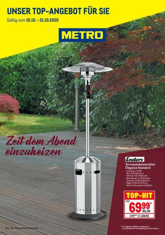 Knallerpreis Heizstrahler . Metro (2020-10-21-2020-10-21)