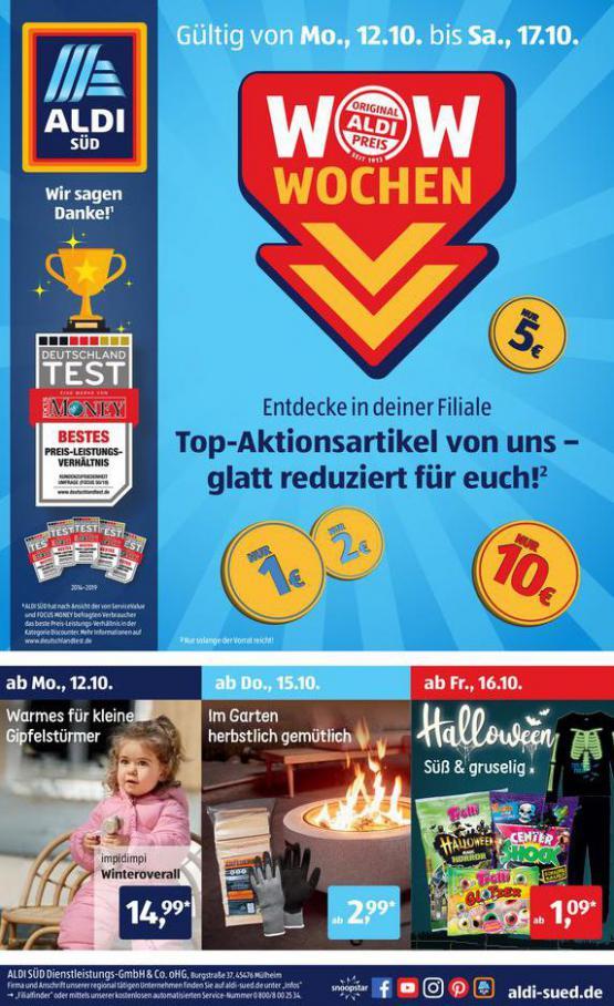 Aldi Süd flugblatt . Aldi Süd (2020-10-17-2020-10-17)
