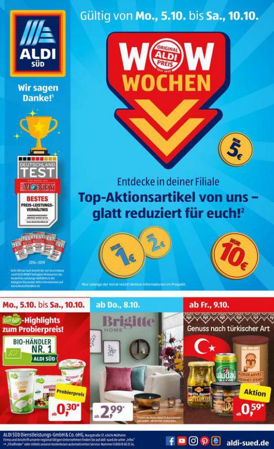 Aldi Süd flugblatt . Aldi Süd (2020-10-10-2020-10-10)