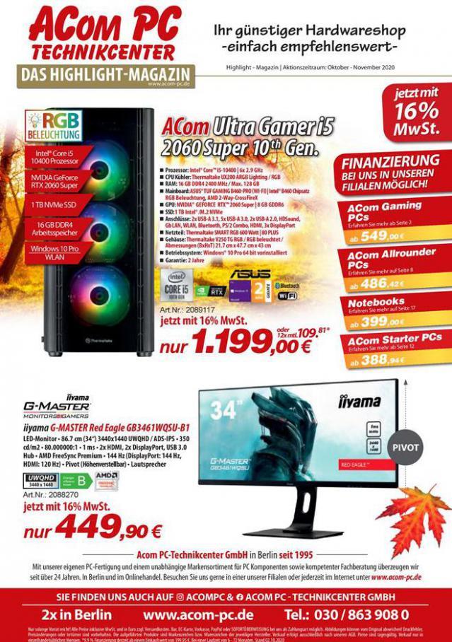 Das Highlight Magazin . ACom PC (2020-11-10-2020-11-10)