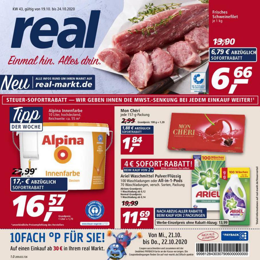 Prospekt Woche 43 . real (2020-10-24-2020-10-24)