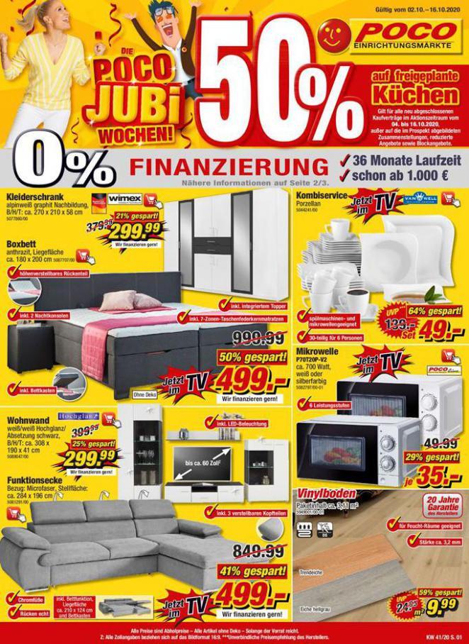 Poco Jubi Wochen! . Poco (2020-10-16-2020-10-16)
