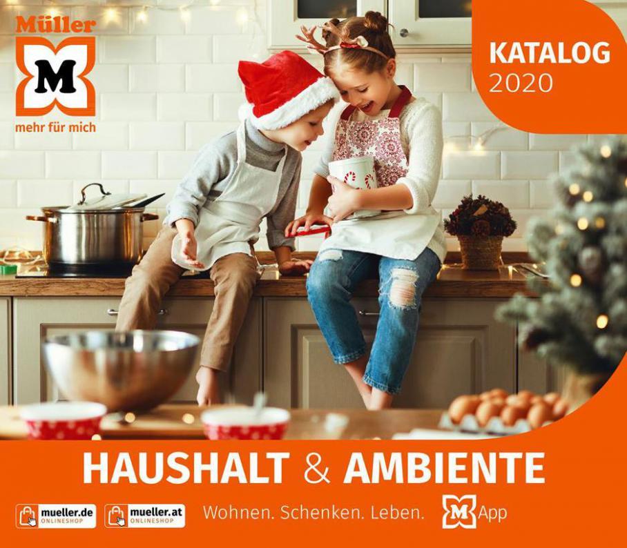 Haushalt & Ambiente . Müller (2020-12-31-2020-12-31)