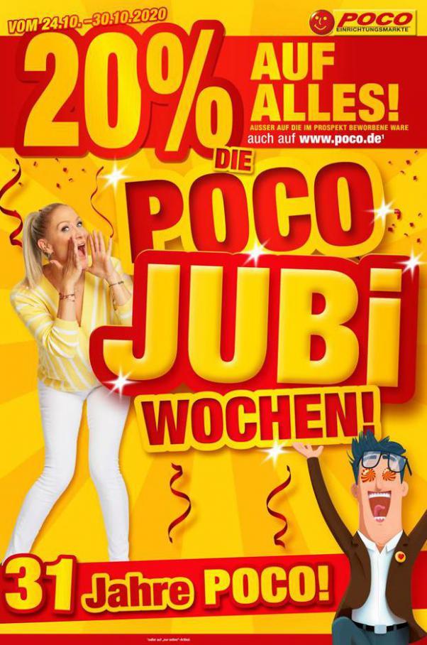 Poco Jubi Wochen! . Poco (2020-10-30-2020-10-30)
