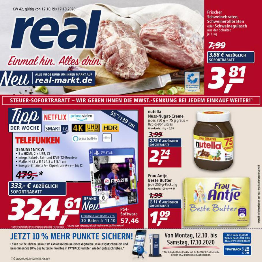 Prospekt Woche 42 . real (2020-10-17-2020-10-17)