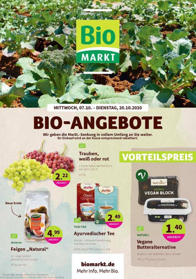 Bio-Angebote . BioMarkt (2020-10-20-2020-10-20)