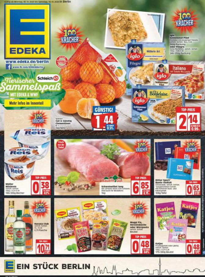 Edeka flugblatt . EDEKA (2020-10-10-2020-10-10)