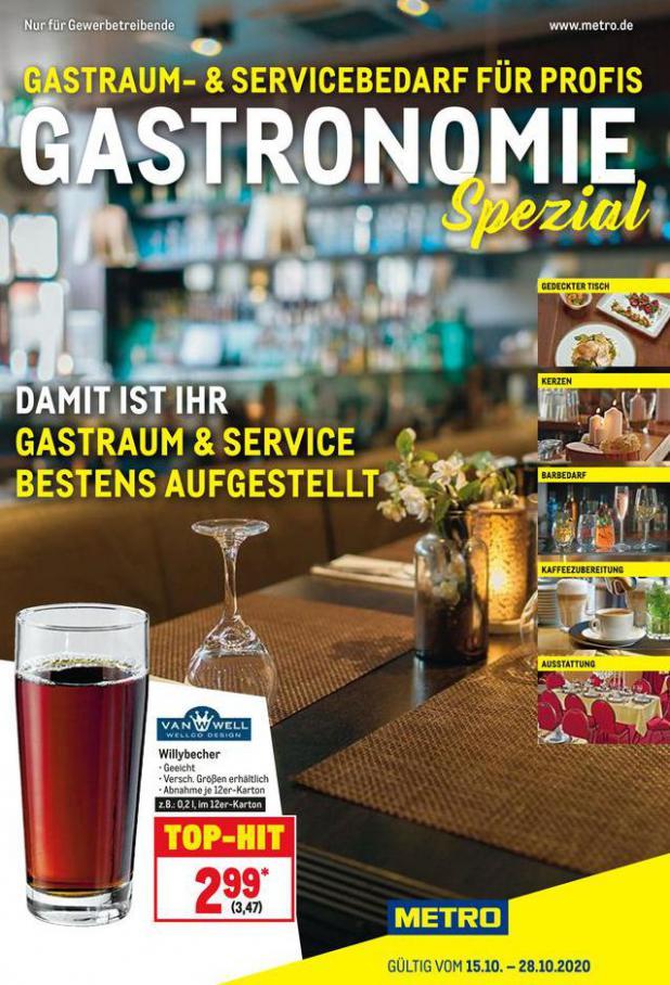 Gastro Spezial . Metro (2020-10-28-2020-10-28)