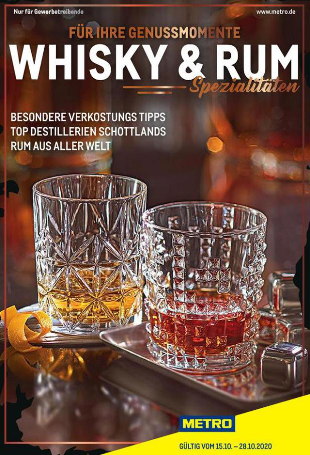 Whisky & Rum Spezial . Metro (2020-10-28-2020-10-28)